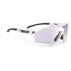 Rudy Project Cutline Gafas, white gloss impactX 2 laser purple/impactX 2 laser purple